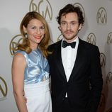 Claire Danes y Hugh Dancy en la gala de entrega de los Producers Guild Awards 2014