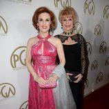 Kat Kramer y Karen Sharpe en la gala de entrega de los Producers Guild Awards 2014