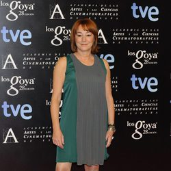 Gracia Querejeta en la fiesta de nominados a los premios Goya 2014