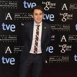 Berto Romero en la fiesta de nominados a los premios Goya 2014