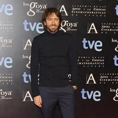 Daniel Sánchez Arévalo en la fiesta de nominados a los premios Goya 2014