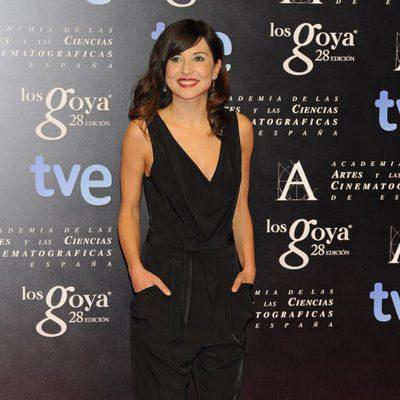 Marian Álvarez en la fiesta de nominados a los premios Goya 2014