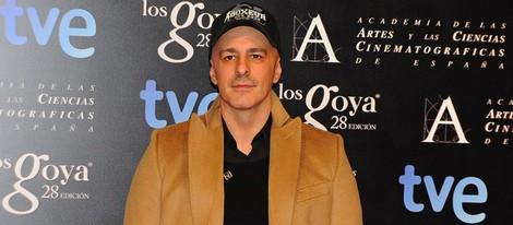 Roberto Álamo en la fiesta de nominados a los premios Goya 2014