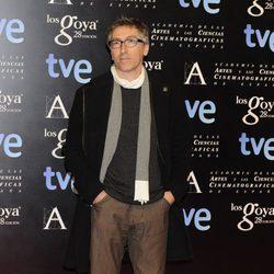 David Trueba en la fiesta de nominados a los premios Goya 2014