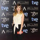 Natalia de Molina en la fiesta de nominados a los premios Goya 2014