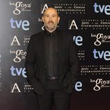 Javier Cámara en la fiesta de nominados a los premios Goya 2014