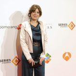 Mari Carmen Sánchez en el estreno del último capítulo de 'El tiempo entre costuras'