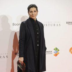 Elvira Mínguez en el estreno del último episodio de 'El tiempo entre costuras'