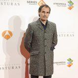 Francesc Garrido en el estreno del último episodio de 'El tiempo entre costuras'
