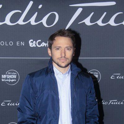 Manuel Martos en el desfile Emidio Tucci otoño/invierno 2014
