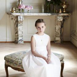Ingrid Alexandra de Noruega celebra su 10 cumpleaños con un posado