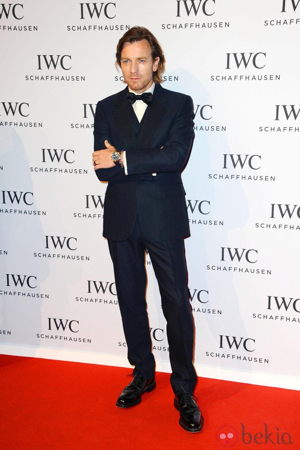 Ewan McGregor en la presentación de la colección 'Aquatimer' de IWC