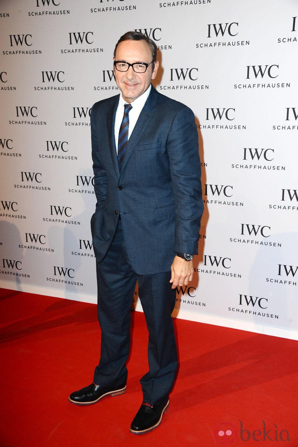 Kevin Spacey en la presentación de la nueva colección 'Aquatimer' de IWC