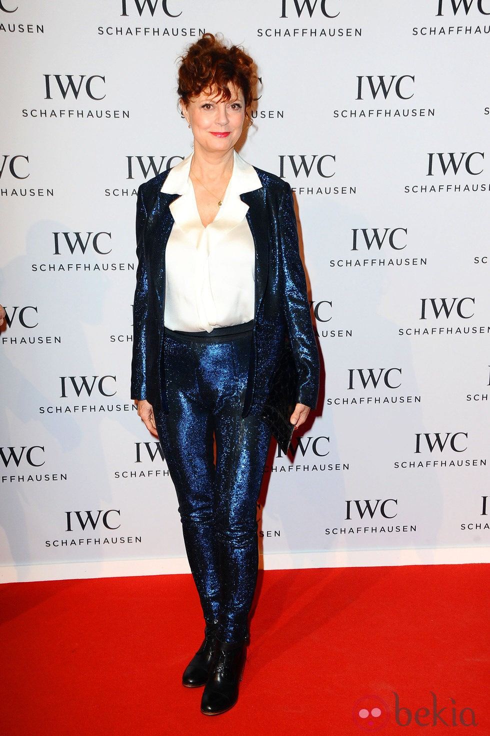 Susan Sarandon en la presentación de la colección 'Aquatimer' de IWC