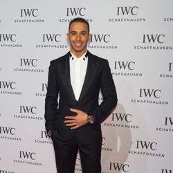 Lewis Hamilton en la presentación de la colección 'Aquatimer' de IWC