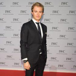 Nico Rosberg en la presentación de la colección 'Aquatimer' de IWC