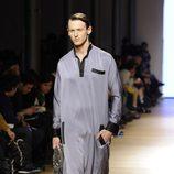 Nicolás Coronado desfilando en la tercera jornada de Madrid Fashion Show Men 2014