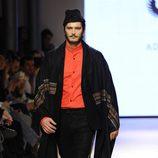 Antonio Pagudo desfilando en la tercera jornada de Madrid Fashion Show Men 2014