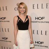 Emma Roberts en la fiesta Elle Mujeres de televisión 2014
