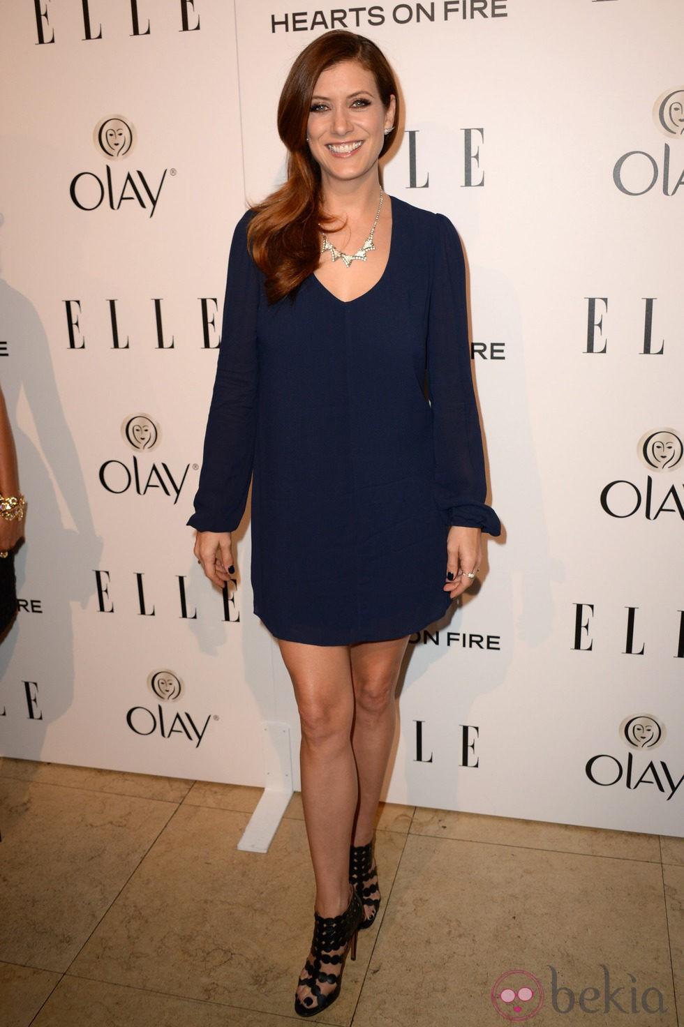 Kate Walsh en la fiesta Elle Mujeres de televisión 2014