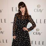 Zooey Deschanel en la fiesta Elle Mujeres de televisión 2014