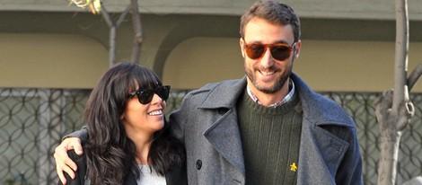 Pedro Castro con Raquel del Rosario en el día de su 39 cumpleaños