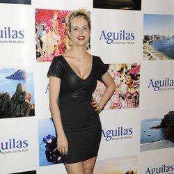 Miriam Sánchez en los Premios del Ayuntamiento de Águilas