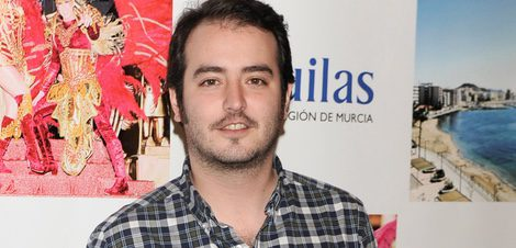 Aaron Guerrero en los Premios del Ayuntamiento de Águilas