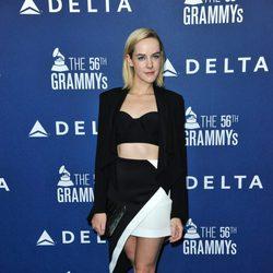Jena Malone en una fiesta pre-Grammy 2014 organizada por Delta Airlines
