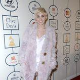 Miley Cyrus en la fiesta Pre-Grammy 2014 de Clive Davis