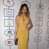 Chrissy Teigen en la fiesta Pre-Grammy 2014 de Clive Davis