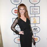 Kathy Griffin en la fiesta Pre-Grammy 2014 de Clive Davis
