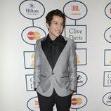 Austin Mahone en la fiesta Pre-Grammy 2014 de Clive Davis