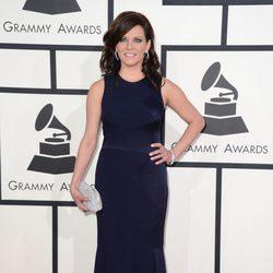 Martina McBride en la alfombra roja de los Grammy 2014