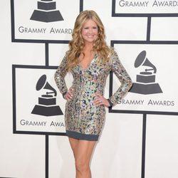 Nancy O'Dell en los Grammy 2014