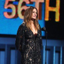 Julia Roberts en la entrega de los Grammy 2014