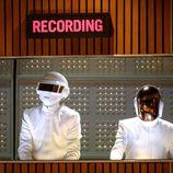 Daft Punk en la gala de los Grammy 2014