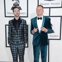 Macklemore y Ryan Lewis en los Grammy 2014