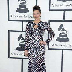 Paula Patton en los Grammy 2014