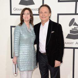 Billy Crystal y Janice Crystal en los Grammy 2014