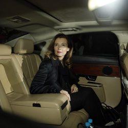 Valérie Trierweiler a su llegada a la India tras dejar de ser la Primera Dama francesa
