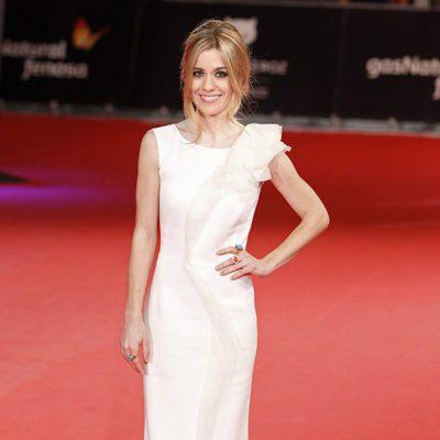 Alexandra Jiménez en la alfombra roja de los Premios Feroz 2014