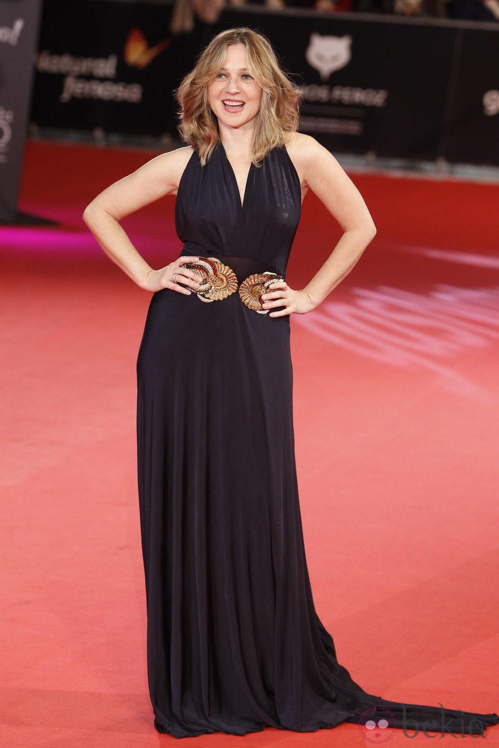 Pilar Castro en la alfombra roja de los Premios Feroz 2014