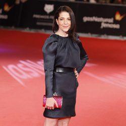 Nora Navas en la alfombra roja de los Premios Feroz 2014