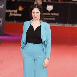 María Morales en la alfombra roja de los Premios Feroz 2014