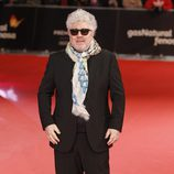Pedro Almodóvar en la alfombra roja de los Premios Feroz 2014