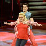 Maribel bailando en la primera gala de '¡Mira quién baila!'