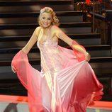 Corinna Randazzo bailando en la primera gala de '¡Mira quién baila!'