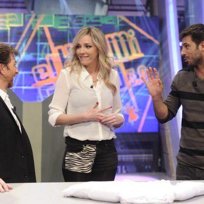 Pablo Motos, Anna Simon y Hugo Silva en 'El Hormiguero'