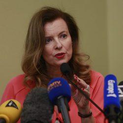 Primeras declaraciones de Valérie Trierweiler tras su separación de Hollande